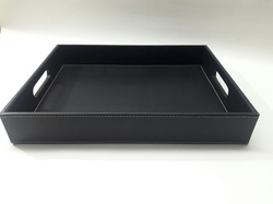 Welcome Tray With Cut Handle
