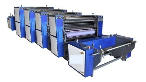 Roll To Roll Non Woven and Paper Printing Machine