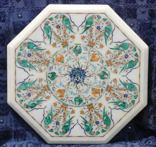 octagonal table tops octagonal marble table top wholesale trader from agra