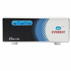 Everest ECC 100 - Ref Wide Range Voltage Stabilizer for DoubleDoor Refrigerator (White)