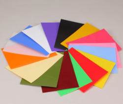 Acrylic Colored Sheet - PMMA Colored Acrylic Sheet Manufacturer from ...