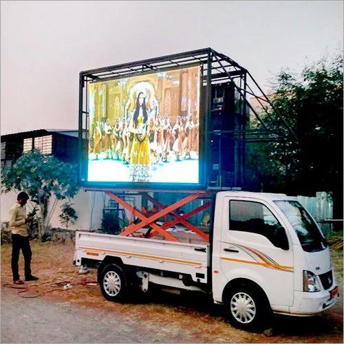 Advertising LED Screen Display Mobile Van