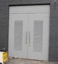 Insulated Metal Ventilation Doors