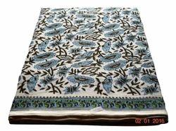 Hand Block Printed Cotton Sanganer Printed Fabric Indian Printed Floral Printed