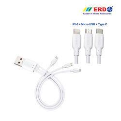 PC 81 Multi USB Cable (3in1) Small
