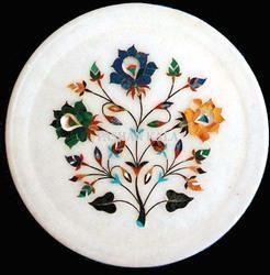 Marble Handicraft Plate
