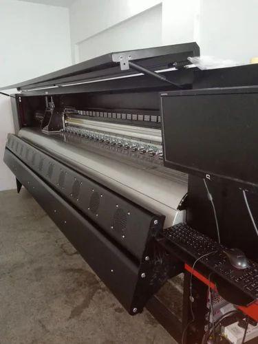 Large Format Digital Solvent Flex Banner Printer