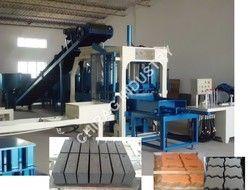 Semi Automatic Hydraulic Concrete Paver Block Making Machine