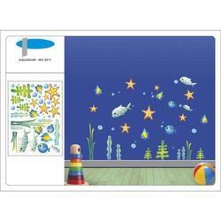 Fish Aquarium Wall Design Stickers