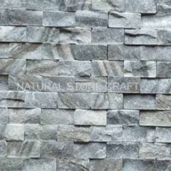 Rockface Stone Cladding Grey Cultural Stone Wall Cladding