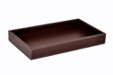 Leatherette Serving Long Tray