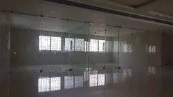12mm Toughened Glass Partition