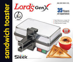 Sleek Dlx Sandwich Maker