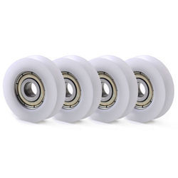 Single Roller Nylon Wheel With Groove