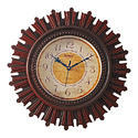 Wooden Round Shape Hanging Wall Clock Decorative Gift Item