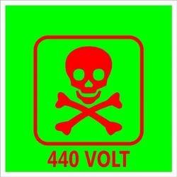 Enameled Danger Plates