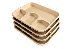 4 Cp Sq. Biodegradable Plate