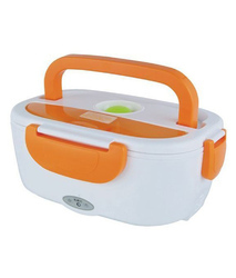 Orange Electric Lunch Box