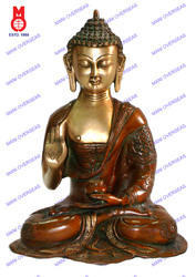 Lord Buddha Blessing Hand Asthmangal Statue (without Base)