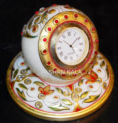 Decorative Marble Painting Watch