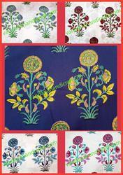 Hand Block Prrinted Fabric