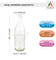 930 Ml Ketchup Bottle