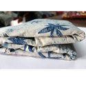 Indigo Dabu Bagru Batick Print Fabric