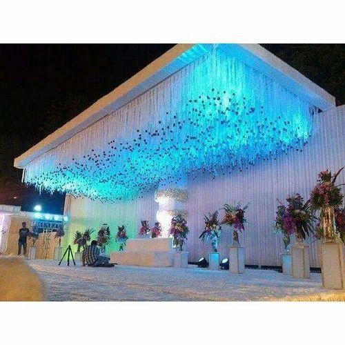Wedding Mandap Crystal Ceiling Manufacturer From Meerut