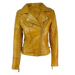 PU Leather Ladies Jacket