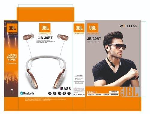 Wireless Black Jbl Jb 30bt Neckband Bluetooth Rs 450 Piece Ulpra Traders Id 21479118412