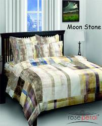 Moon Stone Bed Sheets Rosepetal