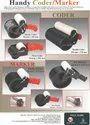 Cartoon/Wooden Coding Batch Coder -Mini Handy Coder / Marker 50 mm x 196 mm