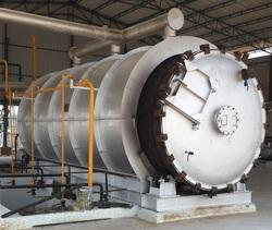 Waste Tyre Pyrolysis Auto Door System