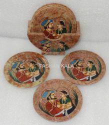 Soapstone Painting Coaster