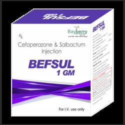Cefoperazone 0.5gm  Salbactum 0.5gm