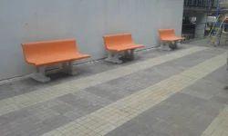 Garden Cement Benches