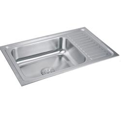 Single Bowl Single Drain Sinks - Single Bowl Sink With Drain Board ...