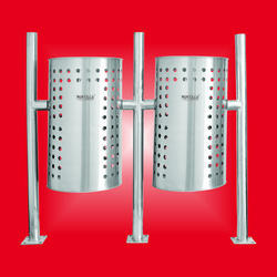 Hanging Perforated Bin - Double