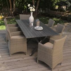 Cane Outdoor Dining Sets