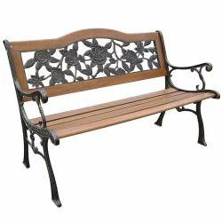 Cast Iron Garden Outdoor Bench