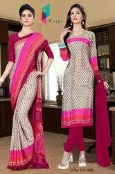 Uniform Saree and Salwar for hotel staff