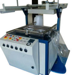 Semi Automatic Thermocol Thali Making Machine