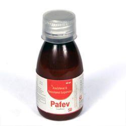 Aceclofenac 50mg Paracetamol 125mg ( Suspension)