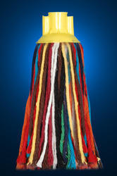 Plastic Round Mop Multi Colour