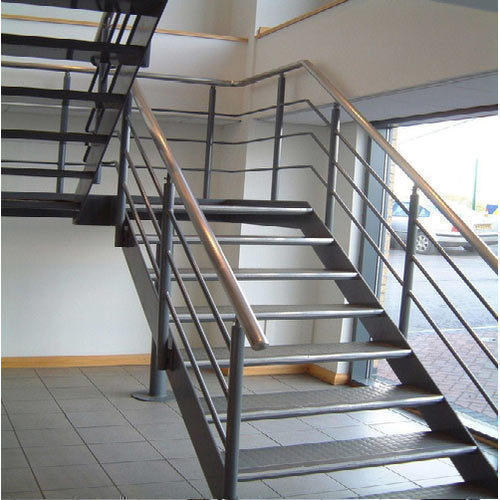 Different Types Of Staircases: Mild Steel Staircase Manufacturer From