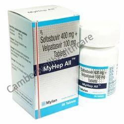 Sofosbuvir 400 mg   Velpatasvir 100 mg