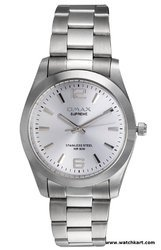 OMAX Analog Silver Dial Men's Watch - SS154