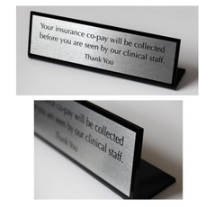 Modular Table Stand Signs