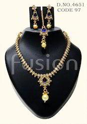 Traditional Polki Necklace Set