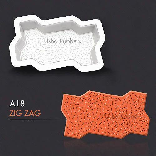 A18 Zigzag Mould